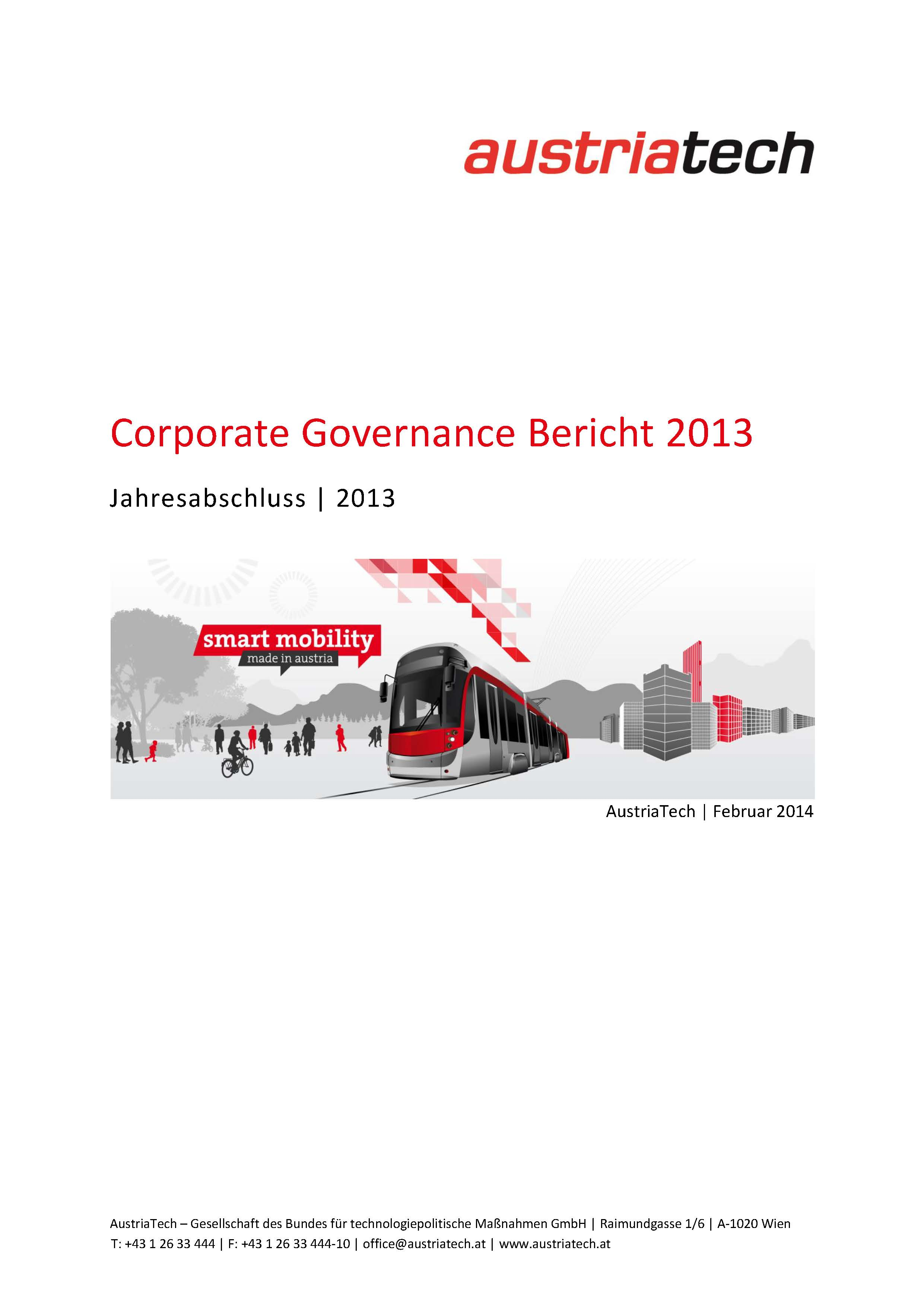 AustriaTech Corporate Governance 2013
