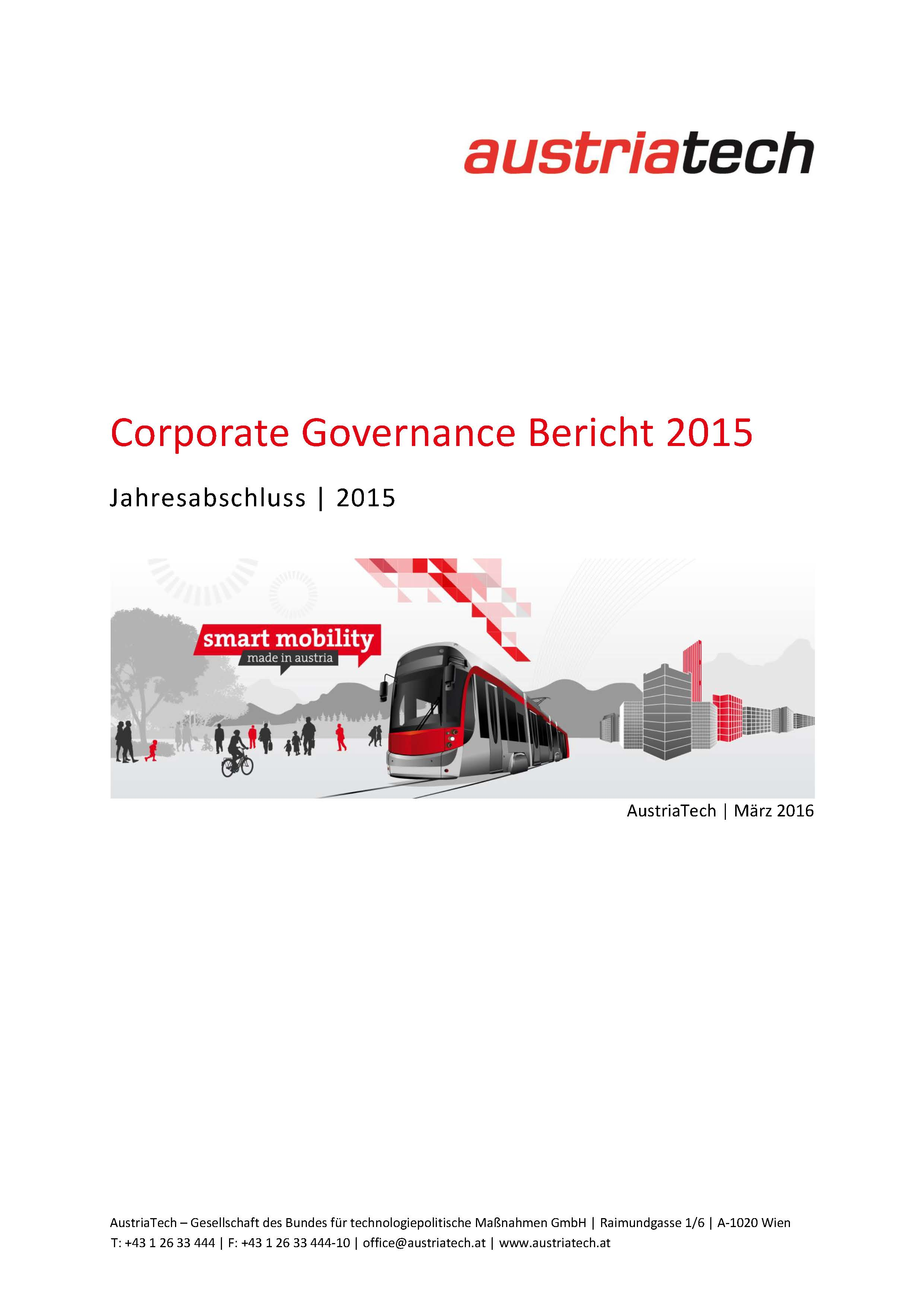 AustriaTech Corporate Governance 2015