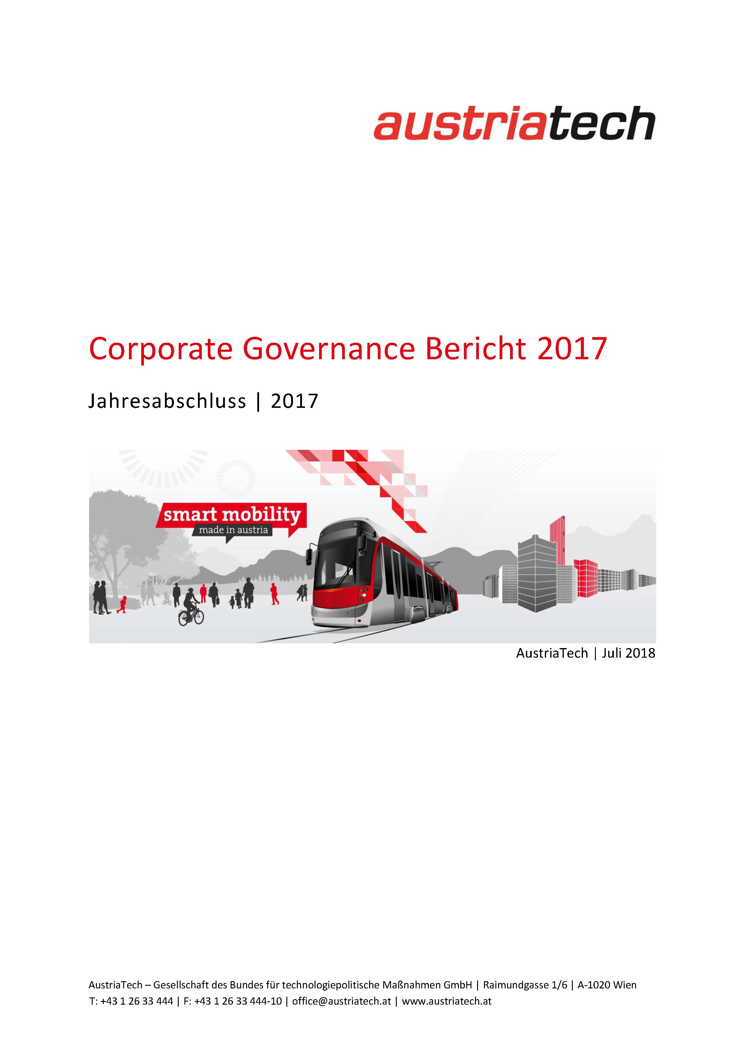 AustriaTech Corporate Governance 2017